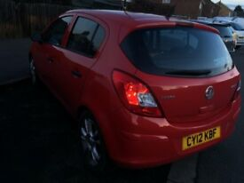 Vauxhall Corsa 2012, Diesel, free DVLA road tax, 5 door Hatchback