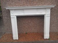 19th century fireplace / chimneypiece / mantlepiece