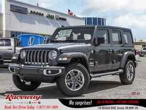 2018 Jeep Wrangler Unlimited Sahara | NAV | HEATED SEATS | ALPIN