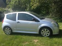 CITROEN C2 VTR AUTOMATIC 2003(53) MOT NOVEMBER RECENT CAMBELT CD PLAYER RARE SMALL CHEAP CAR AUTO