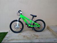Green Boy Mountain Bike