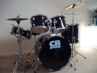 CB Drum Set complete with Stool