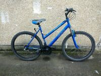 Ladies aluminium lightweight suspension bike lots of gears 21 Apollo XC26 (21) bicycle Upcycles gh
