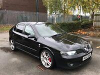 Seat Leon cupra r 210 amd 2004 127k 10 Months mot turbo swap px type r cupra fr
