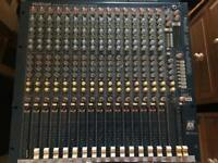 Allen & Heath mixing desk plus FX units