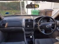 Mazda 323f, alternator not working, very reliable if aletrnator can be sorted out. good for spares