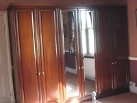 Beautiful mahogany bedroom furniture
