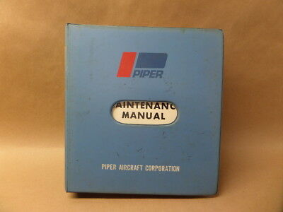 1979 PIPER PA-44-180 MAINTENANCE AIRCRAFT AVIATION MANUAL for sale  Hastings
