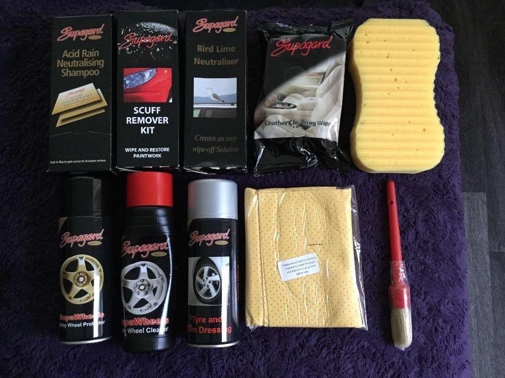 Supergard Car Cleaning Kit