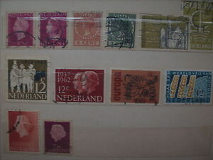Selling My Stamp Collection--- Holland Lot