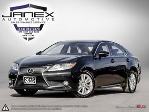 2015 Lexus ES 350 ACCIDENT FREE | LEATHER | HEATED MEMORY SEA...