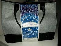 Brand new Yankee candle Christmas tote bag exclusive