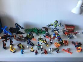 Lego Lot with 22 Mini Figures