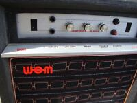 WEM WESTMINSTER MK9 10 AMP VALVE MADE BY WATKINS ELECTRIC MUSIC LTD LONDON ONLY £150 FOR QUICK SALE