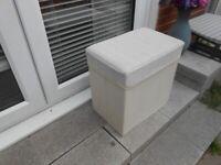 Handy Storage Box / Seat - - £5 - - -