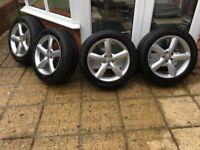 Genuine Audi Q5 S Line Alloy Wheels / Tyres