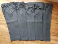 Bundle Boys Grey School Trousers 4-5 yrs