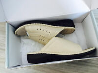 High quality slippers, will fit size 6/7,cost £124.99,brandnew boxed,extremely comfortable, only £30