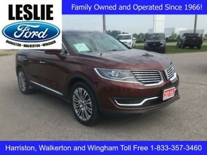 2016 Lincoln MKX AWD | One Owner | Heated/Cooled Seats