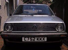 Vw Mk2 Golf 4+e 1.8 gl 5 Speed 115000 miles