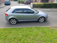 Audi A3 Petrol 6-speed manual,half leather sport trim,alloys ,usual prestiege refinement for audi