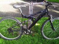 mountain bike - dual suspension