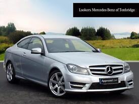 Mercedes-Benz C Class C180 BLUEEFFICIENCY AMG SPORT (silver) 2012-10-31