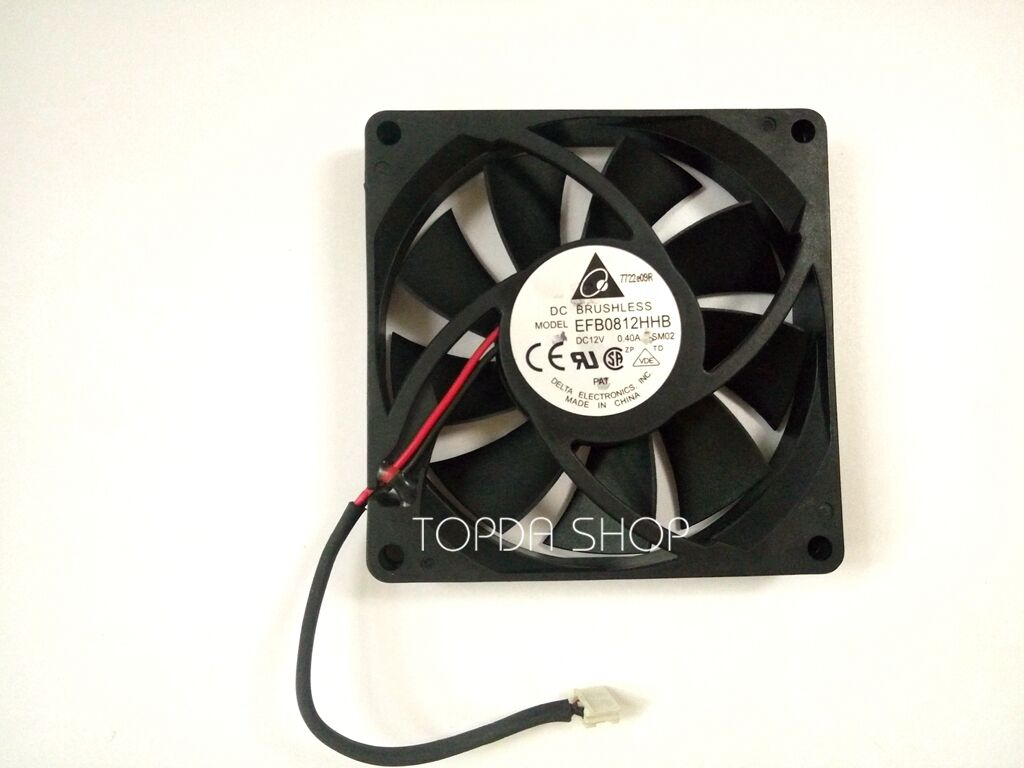 1PC Fan For DELTA EFB0812HHB 12V 0.4A 8CM