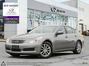 2009 Infiniti G37X AWD | Leather, Sunroof