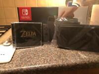 Nintendo switch grey brand new + goodies