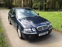 51 Reg Rover 45, 1600cc petrol. MOT July 17. 5 Dr. Great runner, Bargain to clear just £325.