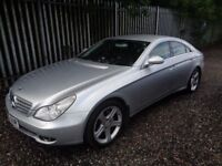 Mercedes-Benz Cls 3.0 CLS320 CDI 7G-Tronic 4dr 2006 121,920 miles full service history mot 14/07/19