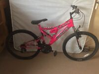 Sabre Bike (hot pink) - barely used