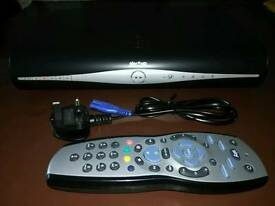 Sky+ HD box with power cable & remote