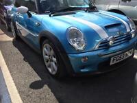 Mini Hatchback 1.6 Cooper S 3dr (blue) 2003