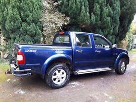 Isuzu D-Max 3.0l Diesel Blue Pick-up Truck