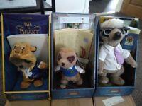 Collectable Meerkat dolls.