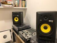 KRK Rokit 6 speakers, pair.