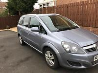 Vauxhall Zafira Energy 1.7cdti 7 seater diesel multi seat