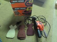 Mouse Sander Black and Decker