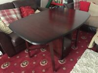 DINING TABLE WITH STORAGE CUPBOARDS