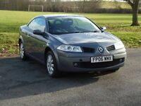 Renault megane cc LOW MILES 55000 NEW CLUTCH AND LOTS OF HISTORY