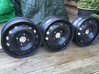 "Steel Wheels 15"" for Peugeot 206 or similar"