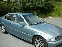 BMW 320 CI 2001 coupe