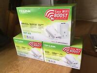Wi-Fi Booster / extender set TP Link with extras