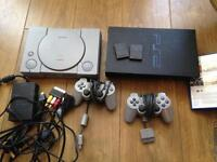 PlayStation 1 and 2