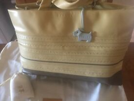 Immaculate Authentic Radley Handbag with dustbag and leather cleaning kit!