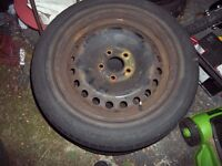 """16"""" Steel Wheel for Ford Focus Mondeo Cmax 5 stud"""