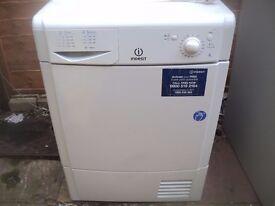 indesit condensor dryer 8kg load
