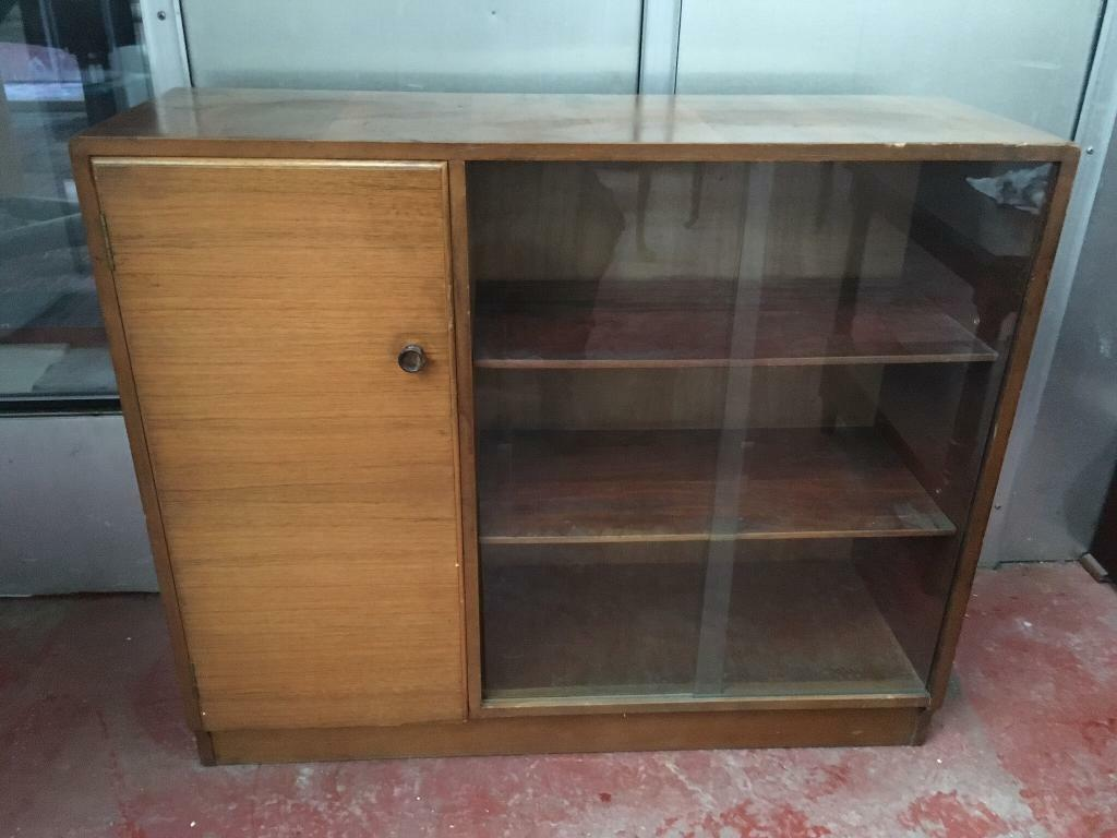 Retro Side Unit Display Cabinet In Bishopbriggs